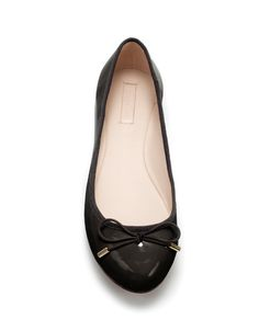 PATENT BALLERINA - Shoes - TRF - New collection - ZARA United States  $29.90