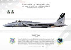 "F-15C ""Eagle"" CALIFORNIA ANG"