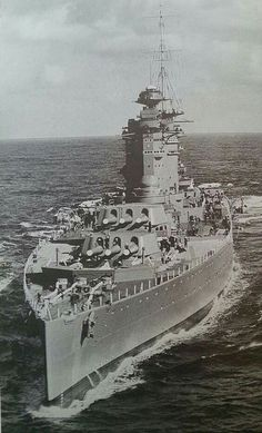 """HMS """"Nelson"""" - the lead ship of its class Battleship in Naval History, Military History, Marine Francaise, Model Warships, Capital Ship, Us Navy Ships, United States Navy, Aircraft Carrier, Royal Navy"""