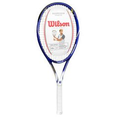Raqueta Wilson Aggressor Power 105 - Azul+Blanco