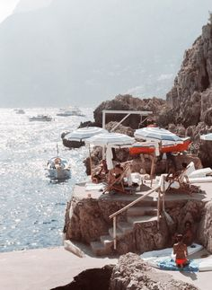 "brydiemack:  ""La Fontelina, Capri  July, 2017  """