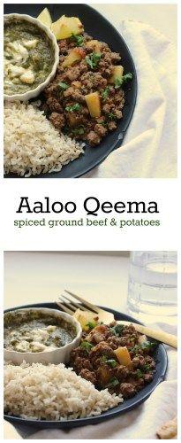 Aaloo Keema - A Pakistani Recipe with Tips for a great Keema! - Flour & Spice recipe pakistani Aaloo Keema - A Pakistani Recipe with Tips for a great Keema! Keema Recipes, Curry Recipes, Vegetarian Recipes, Healthy Recipes, Chicken Kheema Recipe, Chicken Recipes, Biryani, Keema Recipe Pakistani, Beef Keema
