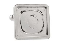 Rhodium Plated Square Heavy Weight Cuff Link: http://www.cooksongold.com/Findings/Rhodium-Plated-Square-Heavy-Weight-Cuff-Link-16mm-Pack-of-4-prcode-N2U-112R