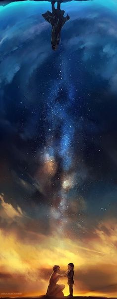 One of my fav art pieces of Frigg and Loki... Stardust..(remembers Jyn.. Starts crying... Completely irrelevant with the pic...)