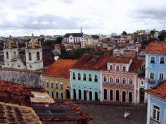 Brasil: Pelourinho Salvador De Bahia