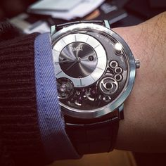 The Piaget Altiplano 900P, the thinnest mechanical watch in the world at 3.65mm