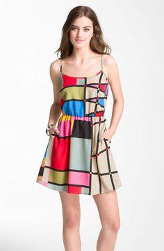 Mimi Chica Back Cutout Dress (Juniors) | Nordstrom