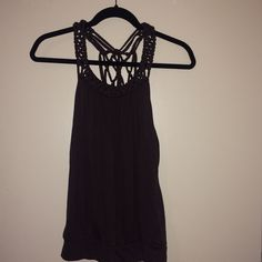 Forever 21 Dark Grayish/Brownish Top So cute and comfortable, I don't believe it's ever been worn :) Forever 21 Tops Tank Tops