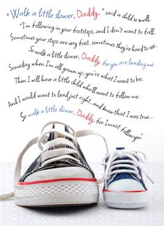 Our most popular Father's Day greeting card! A heartfelt message for a first time dad. #TGCSCard #FathersDayCard  Link: http://www.thegreetingcardshop.com/card-categories/father-s-day/1st-father-s-day