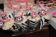 Pink + Zebra Print Minnie Mouse Inspired Birthday