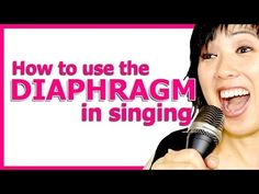 ▶ How to Sing from your Diaphragm - Singing Tips - YouTube http://www.voxsource.com/singing-exercises/