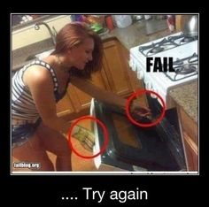 Cooking FAIL from Calm Down It's Just A Joke. Reminds me of someone I know @Christine Lopez. :)
