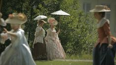 Children in the 18th century. I love this video. They recreate the life perfectly. The costumes are amazing!