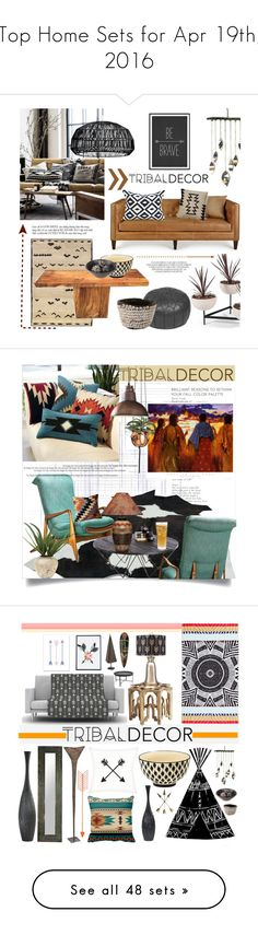 """""""Top Home Sets for Apr 19th, 2016"""" by polyvore ❤ liked on Polyvore featuring interior, interiors, interior design, home, home decor, interior decorating, Oriental Weavers, Massoud, Rizzy Home and Ay Illuminate"""