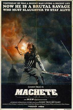Machete, Danny Trejo, Grindhouse, Poster