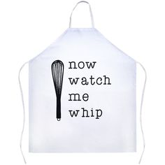 """This apron is made out of 100% Polyester designed to give you a sarcastic and fun apron to wear while cooking in the Kitchen. The Apron is 31""""x 35.75"""" We recommend a cold wash only to ensure the desig"""