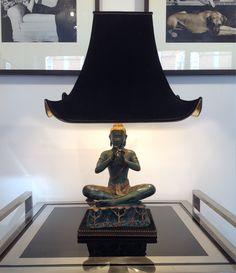 Unusual Buddha Lamp