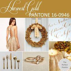 Harvest Gold PANTONE 16-0946