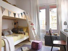 Un piso familiar y ecléctico