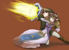 My Hero; Link And Zelda