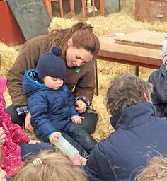 Catherine, Duchess of Cambridge and Prince George at Snettisham Park. April 2015