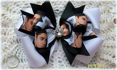 Justin Bieber Hair BowBieber Boyfriend Hair BowGirls by kikibowz, $13.00