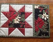 Quilted Placemat, Mug Rug, Snack Mat, Coaster, Candle Mat. No. 4