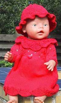 Foto af Rød kjole