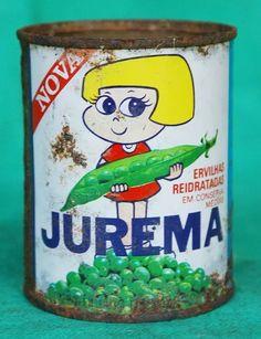 Lata Antiga Das Ervilhas Jurema Anos 70 - R$ 30,00 em Mercado Livre
