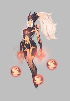 Molten Syndra League of Legends LoL  gathered by http://how2win.pl
