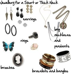 What Jewellery to Choose When You Have a Short or Wide Neck | Inside Out Style