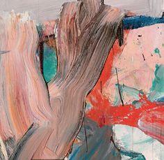 Willem de Kooning (Dutch 1904-1997) Untitled XXV (1977) Detail