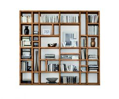 32 Stylish Bookshelf Design Ideas That Have An Essential Furniture In Your Home - Bookshelf furniture pieces are very interesting. Their main function, to store and keep books, is a simple yet very important one. Most people think Creative Bookshelves, Decorating Bookshelves, Bookshelf Design, Modern Bookshelf, Bookshelf Ideas, Home Library Design, Home Office Design, Interior Design Living Room, Bookshelves In Living Room