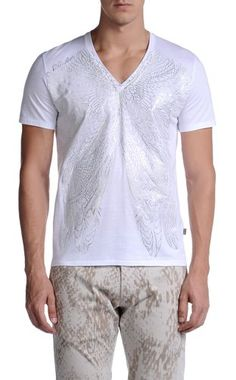 Short sleeve t-shirt - JUST CAVALLI - 100% Cotton