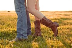 country style engagements! I may need to buy some boots...