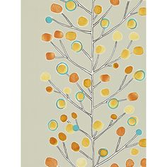 Buy Scion Berry Tree Wallpaper | John Lewis