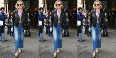Get inspired by our gallery of the best denim looks worn by the most stylish stars and models.