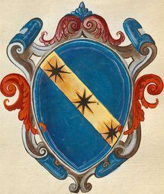 Ginori family, coat of arms. Florence.