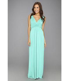 Tart Adrianna Maxi Dress Peacock Green - 6pm.com $109 Inspirations | Bride & Groom