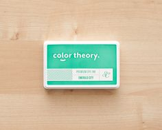 Color Theory Ink Pad - Emerald City at @Studio_Calico