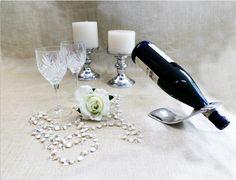 PEWTER #Pewter #Portabotellas #BottleHolders #Vino #Wine #Candelabro #Candelabrum #Velas #Candles #Brindis #Cheers