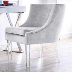 Mercer41 Myra Velvet Arm Chair