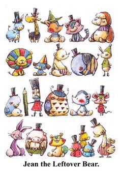 Baby Love, Baby Items, Cool Art, Pokemon, Character Design, Bear, Snail Mail, Comics, Cool Stuff
