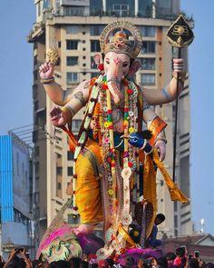 Image may contain: 1 person, standing and outdoor Jai Ganesh, Ganesh Lord, Shree Ganesh, Shri Ganesh Images, Ganesha Pictures, Ganesha Painting, Ganesha Art, Ganesh Chaturthi Photos, Ganesh Bhagwan