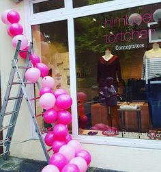 In preparation for opening party 💗💗 #opening #soon #event #shop  #party #fashion # Musik #happy #liebe #love #newin #newstore #shoppen #openingceremony #ceremony  #himbeertoertchen_fashion_store #preparation #opennow #new #neu #leverkusen #mode #köln #conceptstore #fairtrade #ethical #eco #balloons #