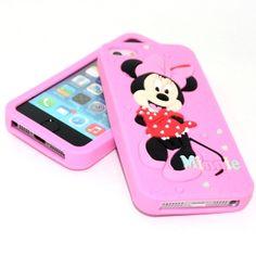 Minni Mouse silicone case  http://ordanburdan.az/products/minni-mouse-silicone-case/ Кейс Minnie Mouse для телефона Apple iPhone 5/5S.