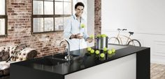 Innovatieve hoogglans Dekton XGloss keukenbladen