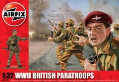 Save $ 2.13 ! Buy a Airfix A02701 1:32 Scale British Paratroops Figures Classic