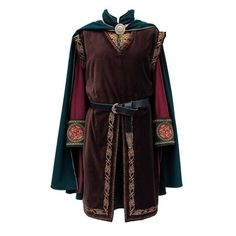 Mens Medieval Tunic Fantasy Clothes ❤ liked on Polyvore featuring men's fashion