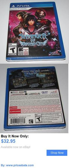Video Gaming: Stranger Of Sword City For Playstation Vita Brand New! BUY IT NOW ONLY: $32.95 #priceabateVideoGaming OR #priceabate